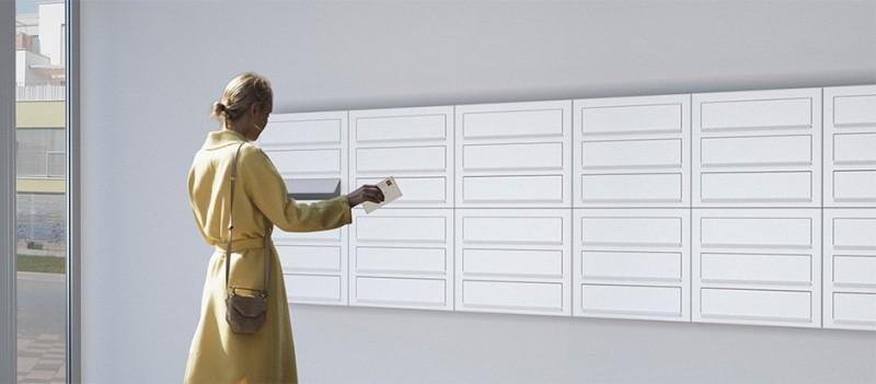 Brievenbussen Design Brievenbus unit Postkastsysteem Vrijstaande brievenbussen Bravios