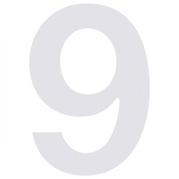 huisnummer ''9'' Wit