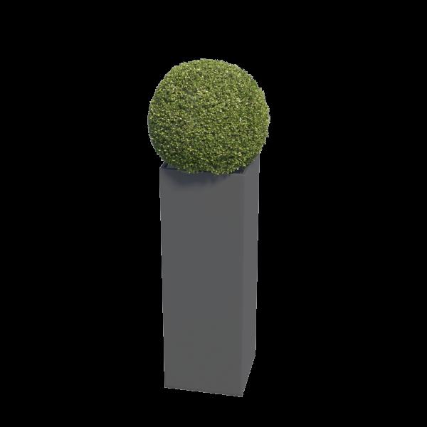 Bloempot Skinny Pillar Medium in Anthracite