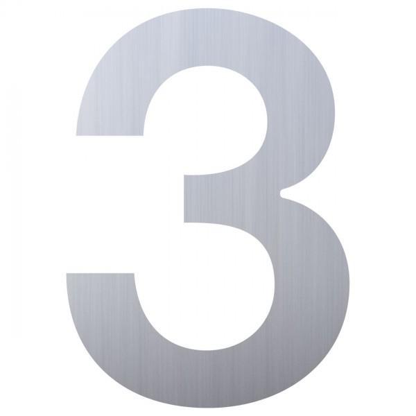huisnummer ''3'' RVS