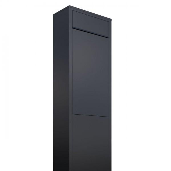 Vrijstaande brievenbus Big Box Zwart