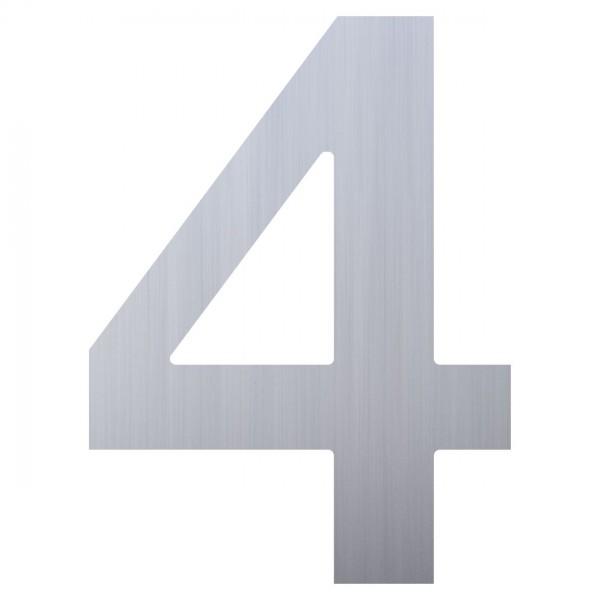huisnummer ''4'' RVS