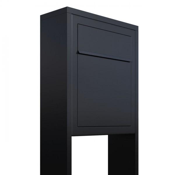 Vrijstaande brievenbus Base Zwart