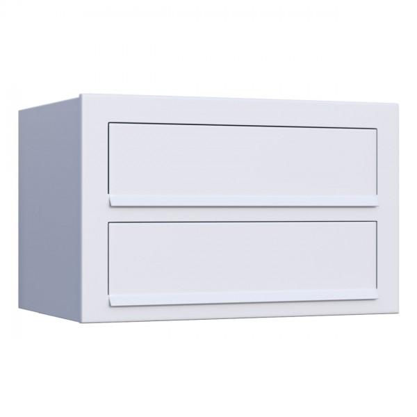 Postkastsysteem Cube voor twee Wit