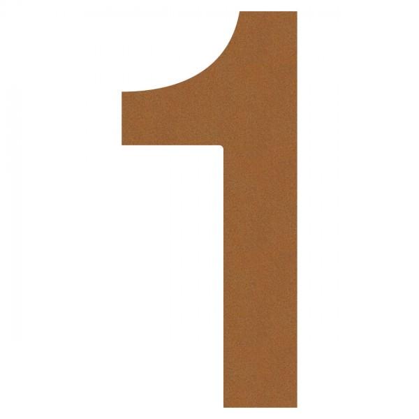 huisnummer ''1'' Okerbruin
