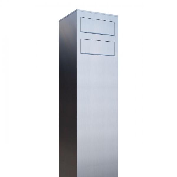 Postkastsysteem Monolith voor twee RVS
