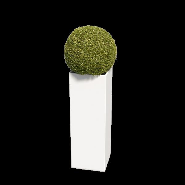 Bloempot Skinny Pillar Medium in Wit