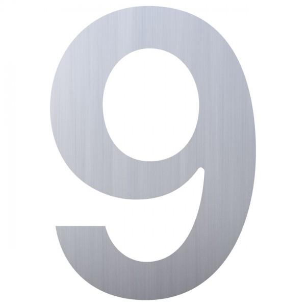 huisnummer ''9'' RVS