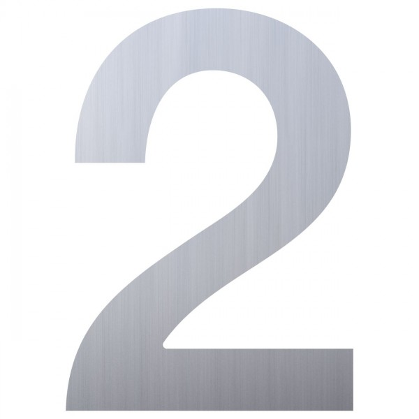 huisnummer ''2'' RVS