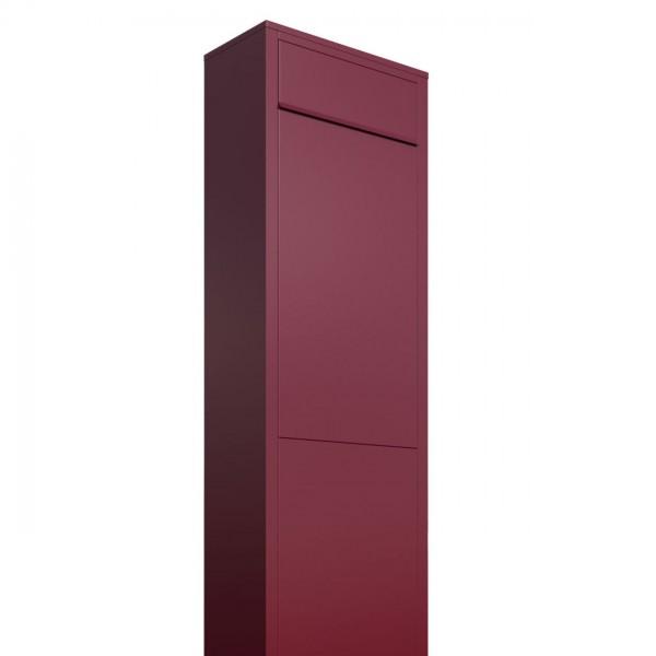 Vrijstaande brievenbus Big Box Rood