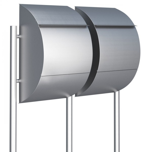 Postkastsysteem Jumbo voor twee RVS