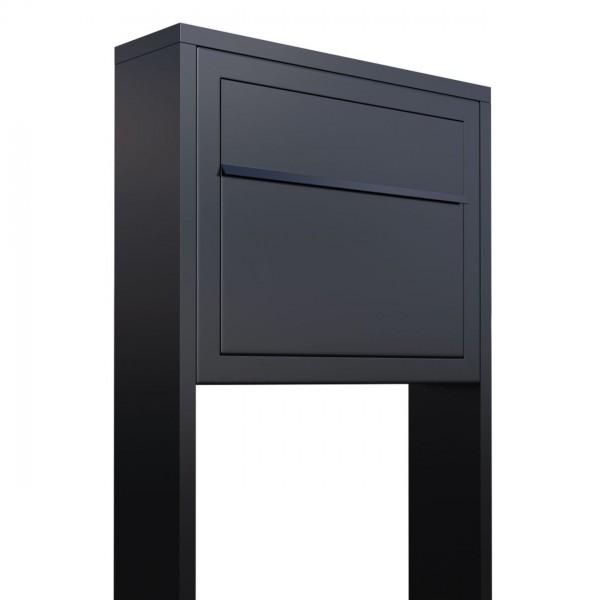 Vrijstaande brievenbus Elegance Zwart