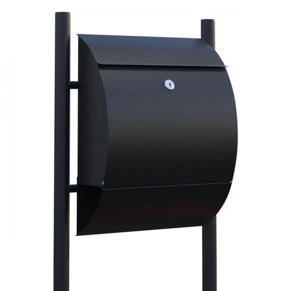 Vrijstaande brievenbus Sunshine Zwart