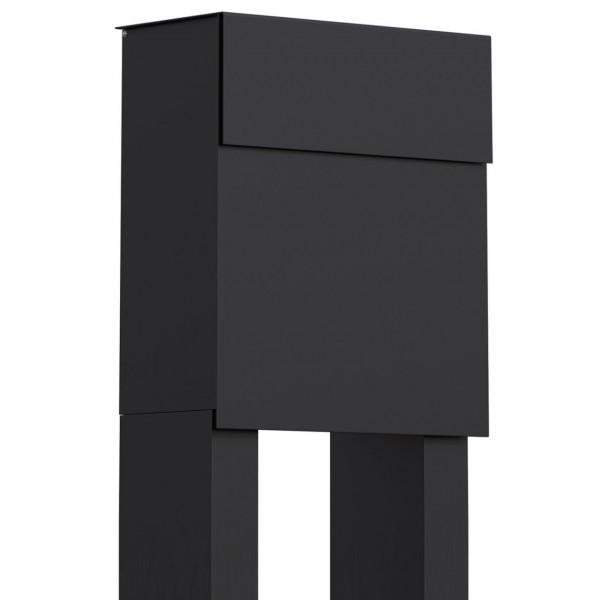 Vrijstaande brievenbus Alto Zwart