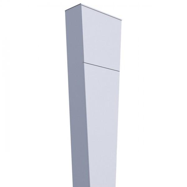 Vrijstaande brievenbus Triangle Wit